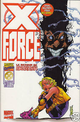 X-FORCE   N° 28    MARVEL  COMICS      editions SEMIC