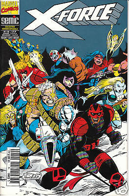 X-FORCE   N° 19    MARVEL  COMICS      editions SEMIC