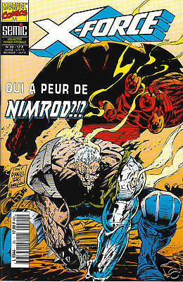 X-FORCE   N° 20    MARVEL  COMICS      editions SEMIC