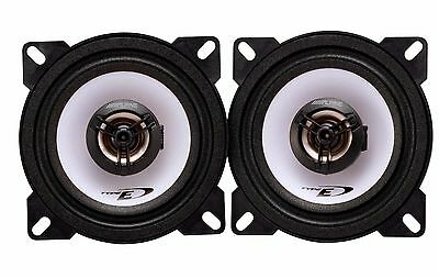 "ALPINE SXE-1025S OPEL 4"" (10cm) 180W COAXIAL 2 WAY CAR DOOR SPEAKERS PAIR"