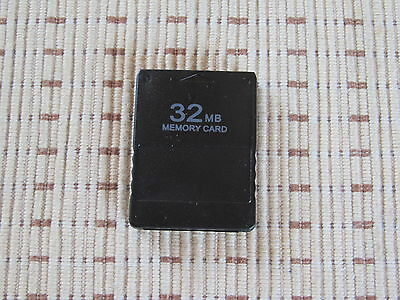 32MB Playstation 2 Memory Card 32 MB PS 2 PS2