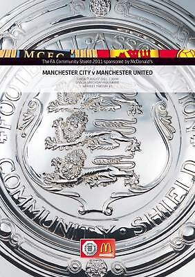FA COMMUNITY SHIELD 2011: Manchester City v Man United