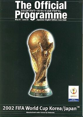 FIFA WORLD CUP 2002 JAPAN: Official Tournament Brochure