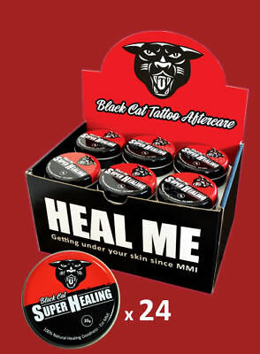 BLACK CAT TATTOO AFTERCARE - 24 x Studio Salve Pack