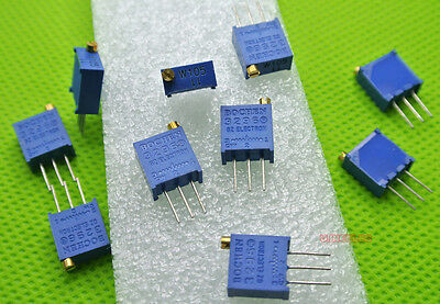 Variable Resistor 3296 3296W Trimmer 100R-1M(10Values).50pcs