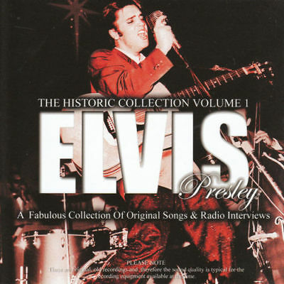 Elvis Presley The Historic Collection Cd Vol 1