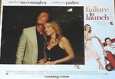 FAILURE TO LAUNCH 11x14 US Lobby Cards Set McConaughey