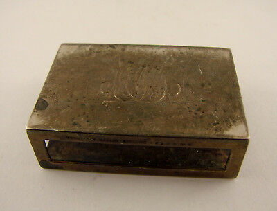 Sterling Silver Authentic Tiffany & Co Matchbox Cover
