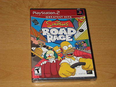 The Simpsons Road Rage  (Sony PlayStation 2, 2001) NEW
