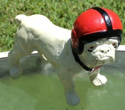 Vintage Bulldog football figurine UGA Univ of Georgia