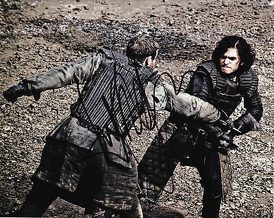 Kit Harington Signed 8x10 Game of Thrones J. Snow Proof