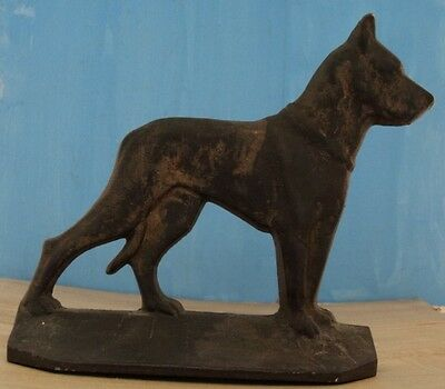 Great Dane EXTREMELY RARE Antique Vtg Hubley Cast Iron