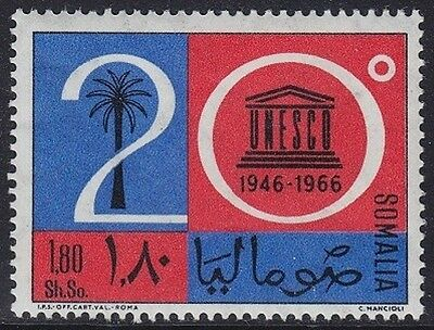 Somalia 1966 - 20° Dell'unesco - S. 1,80 - Mnh