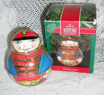 1991 Hallmark Christmas Ornament JOLLY WOLLY SOLDIER