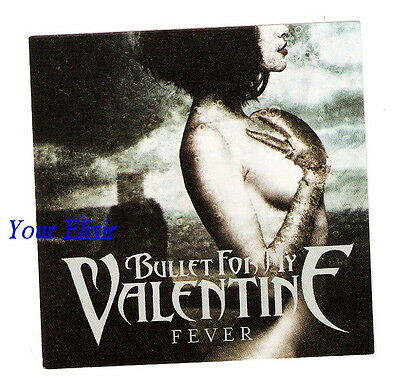BULLET FOR MY VALENTINE Fever Girl Claw Case Sticker