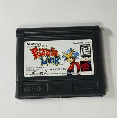 Puzzle Link USA Version Neo Geo Pocket Color Game NEW
