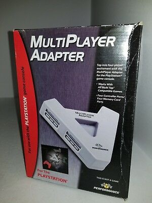 NEW 4 Player Multi Tap  Adapter for Playstation 1 PS1 PSone M24