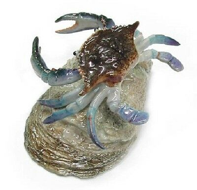 R187 - Northern Rose Miniature - Blue Crab on Shell