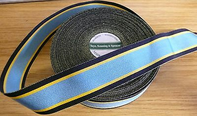 "AIR CREW EUROPE STAR MEDAL RIBBON - 10"" FULL SIZE - brand new by TKS"