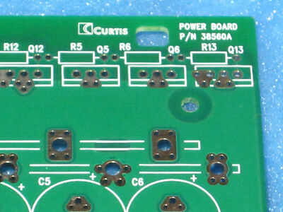 Bare PCB for Curtis DC Motor Power Board