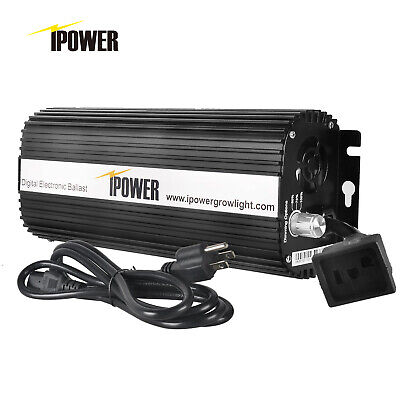 iPower 400 600 1000Watt Digital Dimmable HPS&MH Ballast for Grow Light,UL Listed