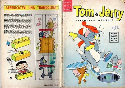 TOM & JERRY n° 21 ed. Cenisio del 1962