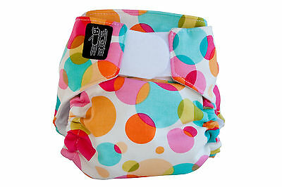 Bubble blast modern cloth nappy - an eatmyfeet product