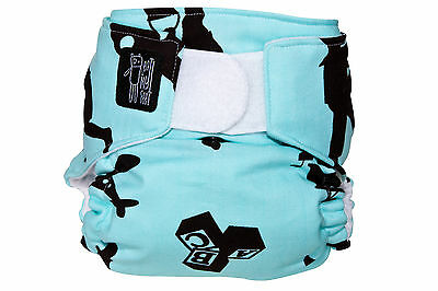 Boys play modern cloth nappy - an eatmyfeet product