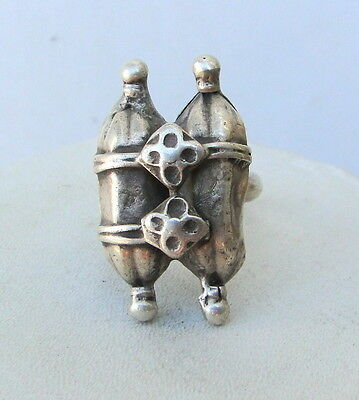 Vintage Antique Ethnic Tribal Old Silver Ring India