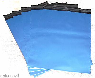 Blue Postal/mailing Bags 15 X Size 10 X14 Inch