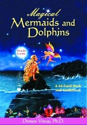Magical Mermaids Dolphins Oracle Cards by Doreen Virtue