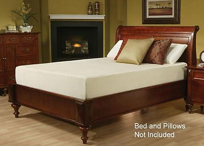"10"" Caroline Visco Elastic Memory Foam Adjustable Bed Mattress"