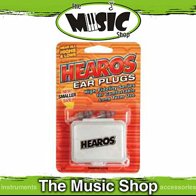 New Hearos High Fidelity Series Ear Plugs - Smaller Size - HS311 Hi Fidelity