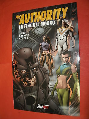 AUTHORITY MAGIC PRESS-FINE DEL MONDO n° 9 - NUOVO