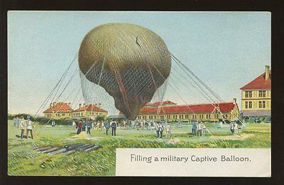 Aviation MILITARY Captive Balloon PPC