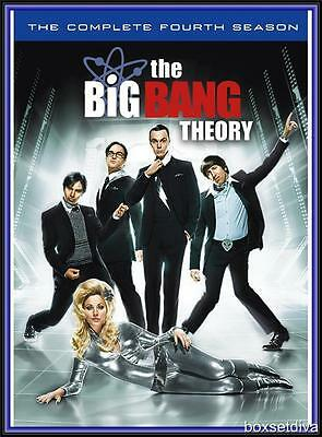 The Big Bang Theory - Complete Season Series 4  *brand New Dvd*