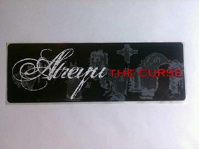 Atreyu The Curse Hot Topic Amp Bike Board Sticker