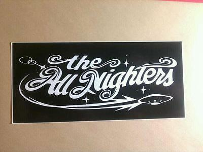 The ALL NIGHTERS Bike Case Car Board Sticker