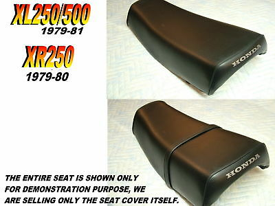 XL250 XR250 XL500 1979-81 Replacement seat cover Honda XL500S XL250S   139