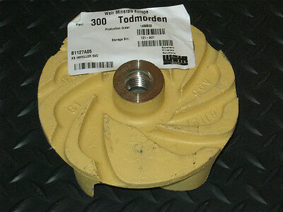 KB Impeller 5VO for Slurry Pump Poly FPL B1127A05
