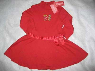 NWT Gymboree Sugar and Spice Red Gingerbread Dress 18 24