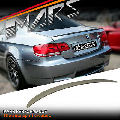 M3 Style ABS Rear Trunk Lip Spoiler for BMW E92 Coupe 320d 323i 325i 335d 335i