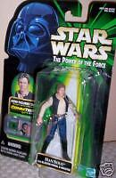 1998 Star Wars Han Solo with COMM TECH Chip to Talk~Kenner Collection by Hasboro
