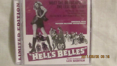 Hell's Belles Music From The Motion Picture Music Composed  Les Baxter 1 / 1200 • CAD $75.50
