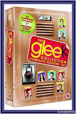 Glee Collection - Compelte Seasons 1 & 2 *Brand New Dvd*