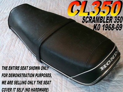 CL350 K0 1968-69 seat cover for Honda CL 350 CL350K0 Scrambler 153