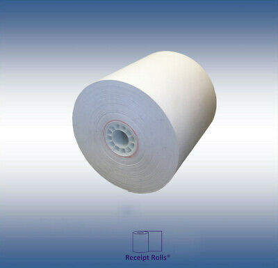 "3"" x 190' Bond Kitchen Printer / Register/Receipt Tape Paper 50 Rolls/cs"