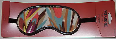 Missoni for Target Sleeping Mask BNWT Rare Sold Out Hard to Find Multi Color