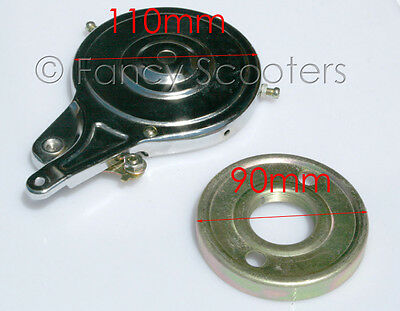 CHROME Band Brake for Mini Gas,electric scooters, #90 GREAT QUALITY