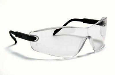Blackrock ARM ADJUST Safety Work Glasses Specs Spectacles Clear Smoke Yellow